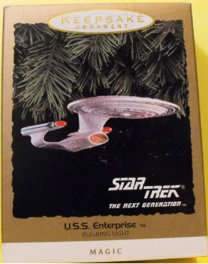 StarTrek USS Enterprise Ornament