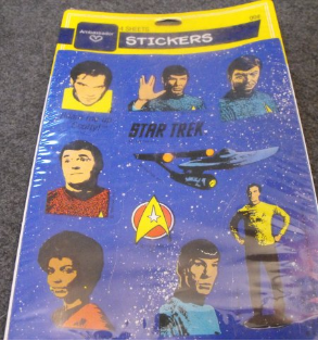 Star Trek Stickers