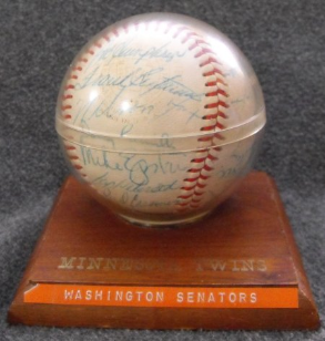 1968 Washington Senators Baseball