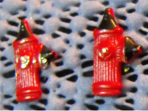 Fire Hydrant Earrings