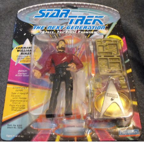 Star Trek Action Figure - Commander Will Riker