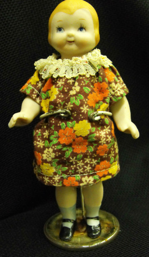 Bisque Campbell Kid Doll